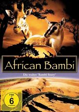 "African Bambi - Die wahre ""Bambi Story"" ( Doku / Familienfilm / Tierfilm ) NEU"