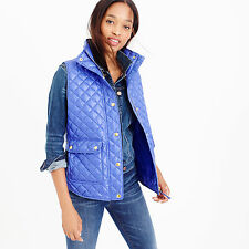 J.CREW Down Shiny Quilted Field Puffer Vest C9300 Women Sz XL SOLD OUT jcrew