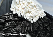 Plastic welding rods mix 50 pcs PP, ABS, LDPE, MDPE, HDPE