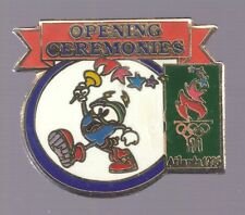 1996 Atlanta Izzy Opening Ceremonies Olympic Pin Set