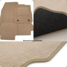 Perfect Fit Beige Carpet Car Floor Mats for Honda CR-V 01-06 Auto - Heel Pad