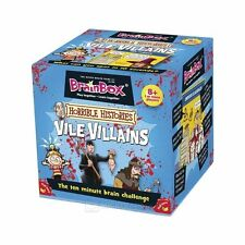 BRAINBOX VILE VILLAINS BRAIN CHALLENGE GAME FOR ALL THE FAMILY