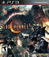 PS3 Lost Planet 2 II Video Game Customizable Arsenal Enormous Bosses DISC ONLY