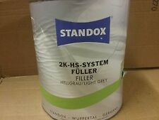 Standox  2K HS System Filler Primer  Light Grey  3.5 litre  Surfacer  02079240