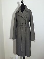 Max Mara Lana Vergine Coat It42 Eu38 Us8 NEW