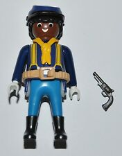 36104 Buffalo Soldier, 9th/10th US cavalry ACW 1870 CUSTOM playmobil