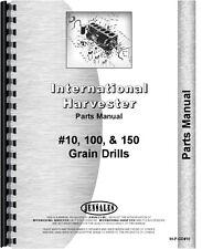 International Harvester Grain Drill Parts Manual