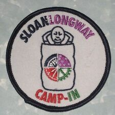 Sloan*Longway Planetarium Camp-In Patch - Flint Michigan