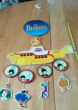 """The Beatles Yellow Submarine Assembled Mobile 15"""" Wide Advert for the 1999 DVD"""