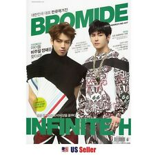 KPOP KOREAN STARS BROMIDE MAGAZINE : 2015 March (Bonus Sticker Included)