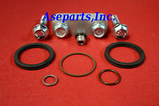 """Duramax Fuel Filter Housing 1/2"""" Spacer kit with Stainless Screw + O-Rings 01-13"""