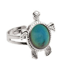 Vogue Chic 1PC Mood Ring Changing Color Turtle Adjustable Temperature Ring