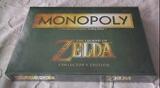 Monopoly The Legend of Zelda Collector's Edition Board Game NISB! Green Box
