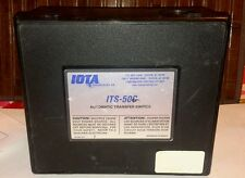 Iota Engineering Co. ITS-50C Automatic Transfer Switch  -- AS IS - See photos.