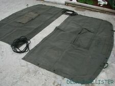 Military Truck M35 a2 Canvas Cargo Cover End Curtain 2.5 & 5 Ton (New) NOS