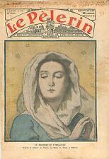 L'Immaculée Conception Sainte Vierge huile sur toile musée du Prado Madrid 1932