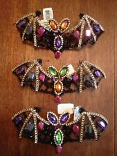 Katherine's Collection Glittered Bats--Set of 3