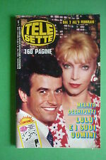 TELE SETTE 6/1986 MARIANGELA MELATO LULU' JANE BADLER PERRY KING JACLYN SMITH