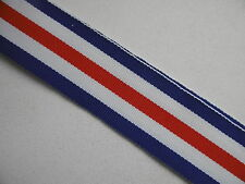 World War II France and Germany Star Medal Ribbon Full Size 15cm long