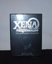 XENA WARRIOR PRINCESS 10TH ANNIVERSARY COLLECTION DVD DVDS BOX SET COLLECTIBLE