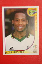 PANINI KOREA JAPAN 2002 # 159 SOUTH AFRICA LEKGETHO WITH BLACK BACK MINT!!!