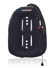 RED Hat immersioni. 30lb 14KG TECH Immersione Anello MAXIMUS singolo serbatoio Wing. NUOVO