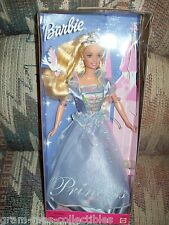 """2000 BARBIE DOLL """"'PRINCESS BARBIE """"""""EASY TO DRESS PURPLE GOWN MADE BY MATTEL"""