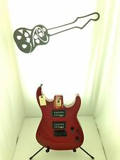 #2876 Jackson JS12 Dinky Red Sparkle Electric Guitar Loaded Body Parts Project