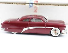 1950 Ford Custom Coupe Wineberry LE Motor City USA Models 1:43 Diecast USA-8