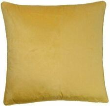 "FILLED LUXURIOUS GOLD SOFT THICK VELVET 18"" CUSHION"