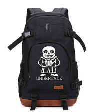 Bag NEW Game Undertale backpack Cowhide Unisex laptop travel schoolbag