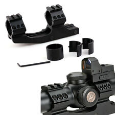 """Tactical 30mm/ 1"""" Dual Ring Cantilever Scope Mount for Picatinny Rail Top Rail"""