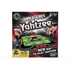 WORLD SERIES OF YAHTZEE GAME! THE NEW WAY TO PLAY THE YAHTZEE! HASBRO A2141 NEW!