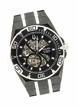 Bulova C977614 Automatic Stainless Steel 21 Jewels Black Dial Watch