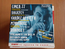 ROCK SOUND VOL. 30 LINEA 77 SOULFLY PENNYWISE DOWNSET DISTURBED SHANDON SAMIAM