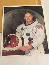 Neil Armstrong Authentic Signed Autograph 8 x 10 Apollo 11 Photo w/ Envelope