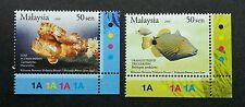 Malaysia Brunei Joint Issue Unique Marine Life 2006 2007 Fish (stamp code) MNH