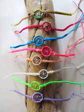 Assorted Colors Pack of 50 Bracelet Dream Catcher Pattern Adjustable 1 Size Mix