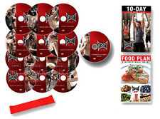 EXERCISE DVD SET -  TAPOUT XT Extreme Training - 12 WORKOUTS