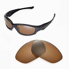 WL Polarized Brown Lenses For Oakley New Straight Jacket (After 2007)