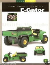 ATV Brochure - John Deere - E-Gator - Electric Utility Vehicle - c2000 (V04)