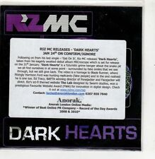 (GI489) Riz MC, Dark Hearts - 2011 DJ CD