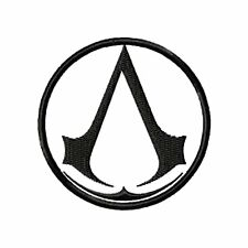 "Athena Assassins Creed 3"" Logo Sew Ironed On Badge Embroidery Applique Patch"