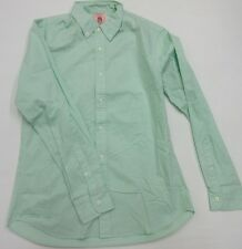 J.PRESS TRUNK CLUB Green Button Down Slim Fit Pin Point Oxford Sport Shirt M