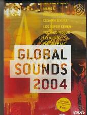 DVD - GLOBAL SOUNDS 2004 WORLD MUSIC CLIPS PATRICIA KAAS MARIZA zone 2 europe