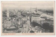 London, View from Top of The Monument, Looking East Postcard, B608