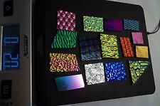 90 COE 2 Ounces or 1/8 Pound Dichroic Glass Scrap Pieces Jewelry Kiln Fusing