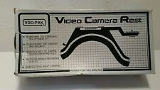 Vintage VDO-PAC  Video Camera Rest Flat base camera Mod CR-102 Shoulder Rest.NOS
