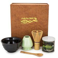 Amazing Deluxe Modern Matcha Tea Gift Set - MatchaDNA Brand (Brown Box)