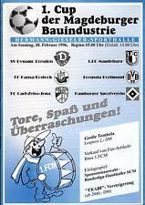 18.02.1996 HT 1. FC Magdeburg, Dynamo Dresden, Hansa Rostock, Hamburger SV, ...